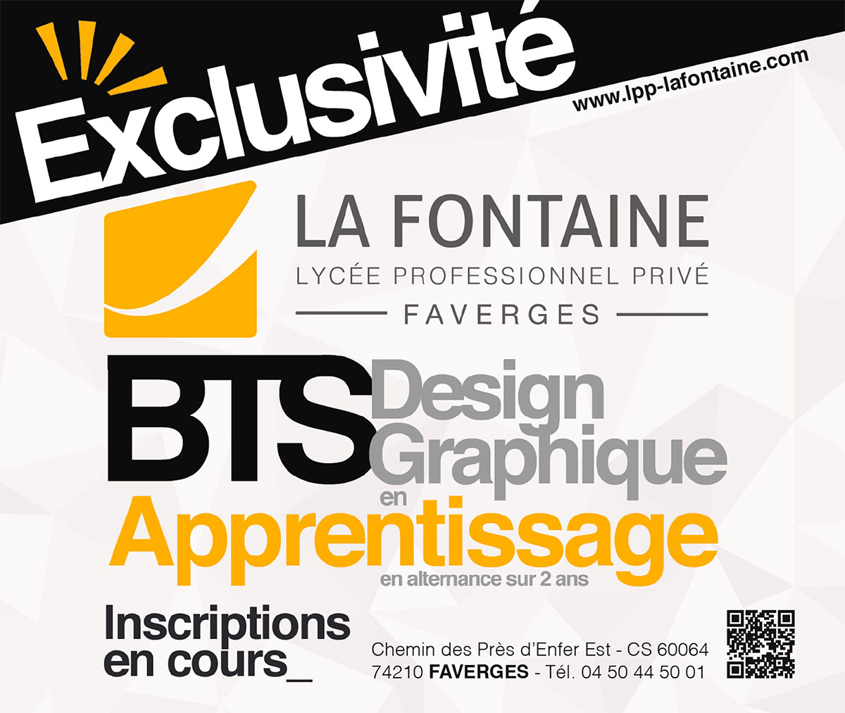 BTS Design graphique en apprentissage